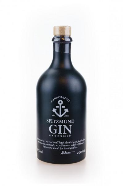 Spitzmund New Western Dry Gin aus Deutschland - 0,5L 47% vol