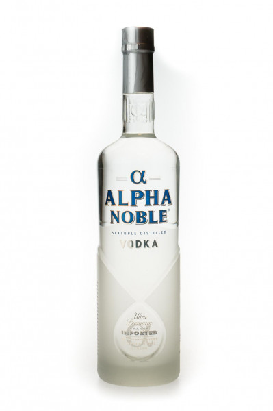 Alpha Noble Vodka Copper Still Finish - 1 Liter 40% vol
