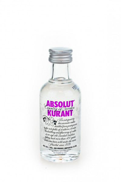 Absolut Kurant Flavoured Vodka - 0,05L 40% vol