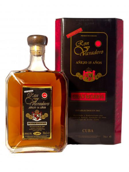 Ron Varadero 15 Jahre Premium Rum - 38% vol - (0,7L)