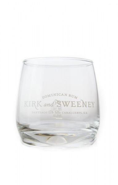 Kirk & Sweeney Rum Glas