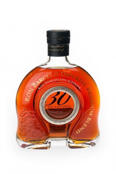 Ron Barcelo Imperial Premium Blend 30 Aniversario Rum - 0,7L 43% vol
