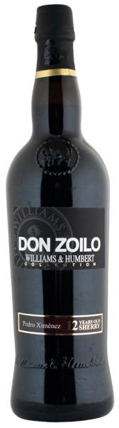 Don Zoilo Pedro Ximénez Very Sweet 12 Jahre Sherry - 0,75L 18% vol