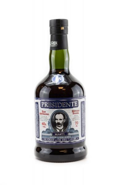 Presidente 15 Jahre Rum - 0,7L 40% vol