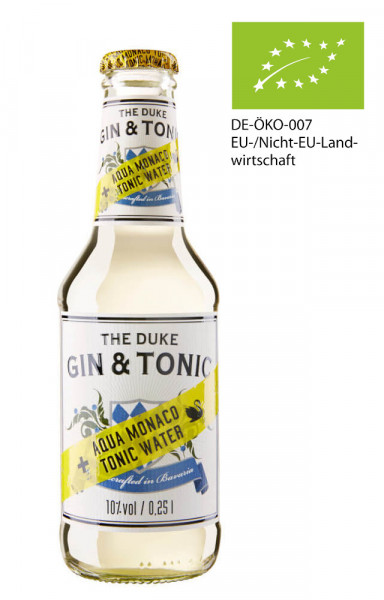 The Duke Gin & Tonic Bottled Longdrink - 0,25L 10% vol