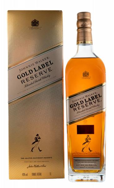 Johnnie Walker Gold Label Reserve Blended Scotch Whisky - 1 Liter 40% vol