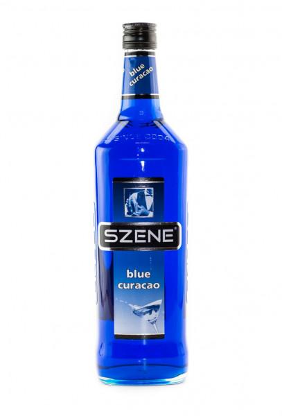 Szene Blue Curacao Likör - 1 Liter 21% vol