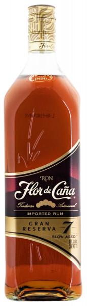 Flor de Cana 7 Jahre brauner Premium Rum - 1 Liter 40% vol