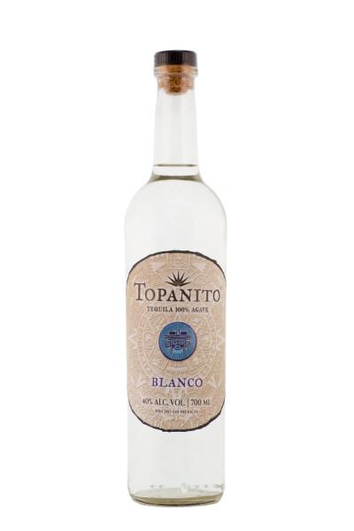 Topanito Blanco Tequila - 0,7L 40% vol