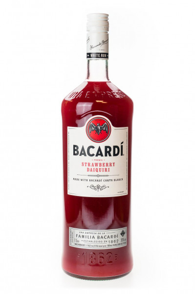 Bacardi Daiquiri Premix Strawberry - 1,5L 20% vol