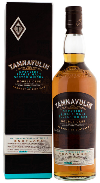 Tamnavulin Double Cask Speyside Single Malt Scotch Whisky - 0,7L 40% vol