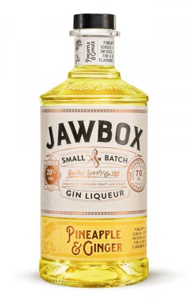 Jawbox Pineapple & Ginger Gin Likör - 0,7L 20% vol
