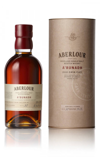 Aberlour A bunadh Highland Single Malt Scotch Whisky - 0,7L 59,5% vol