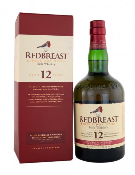 Redbreast 12 Jahre Pure Pot Still Irish Whiskey - 0,7L 40% vol