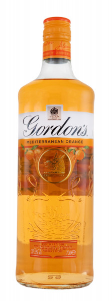 Gordons Mediterranean Orange London Dry Gin - 0,7L 37,5% vol