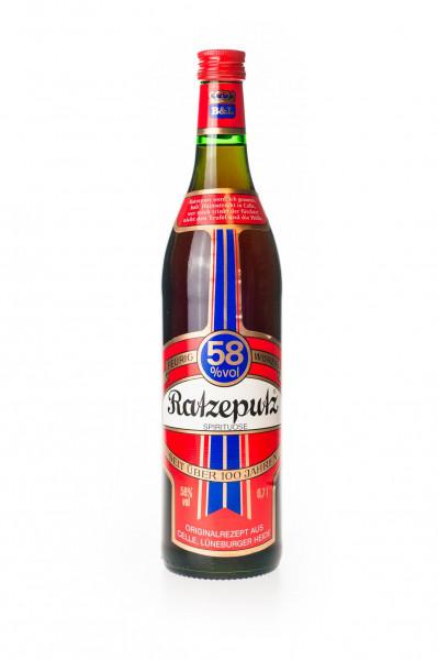 Ratzeputz Ingwer-Spirituose - 0,7L 58% vol