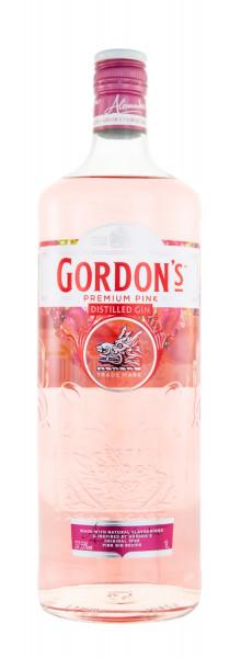 Gordons Premium Pink Distilled Gin - 1 Liter 37,5% vol