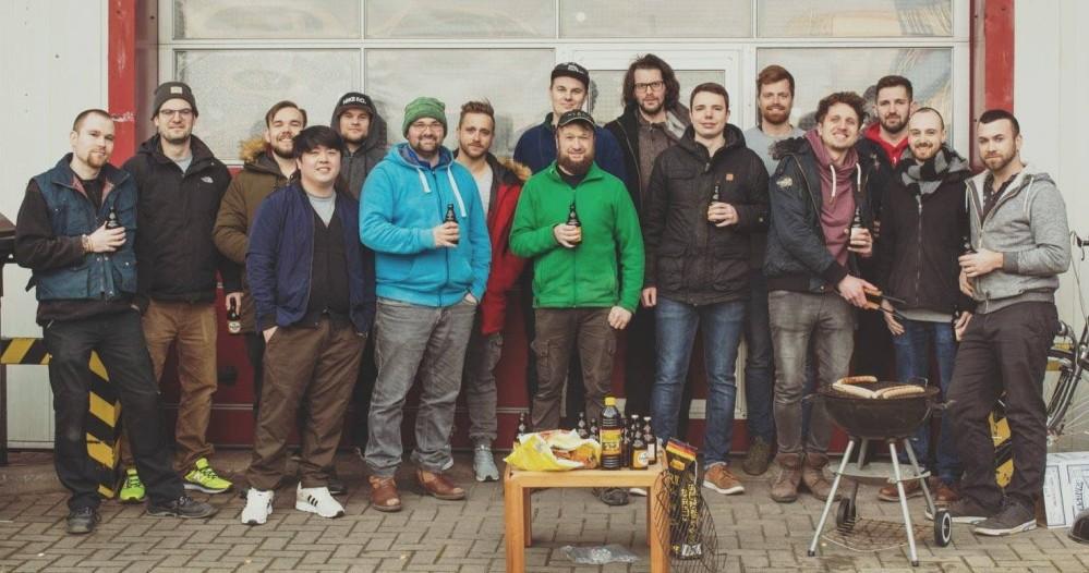 Gruppenfoto Grillen
