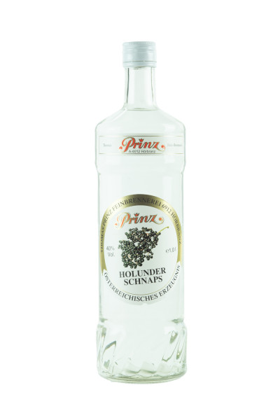 Prinz Holunder Schnaps - 1 Liter 40% vol