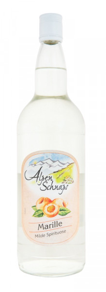Alpenschnaps Steinbeisser Marillenaroma - 1 Liter 35% vol