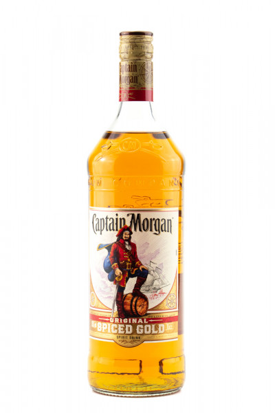 Captain Morgan Spiced Gold Spirituose - 0,7L 35% vol