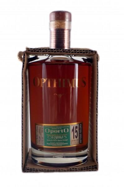 Opthimus 15YO Oporto Premium Rum - 43% vol - (0,7L)