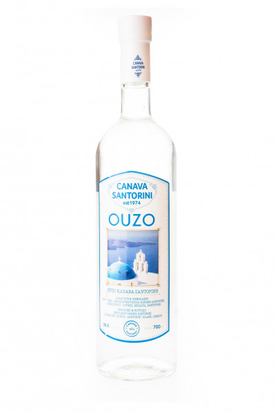Ouzo Canava Santorini - 0,7L 38,5% vol