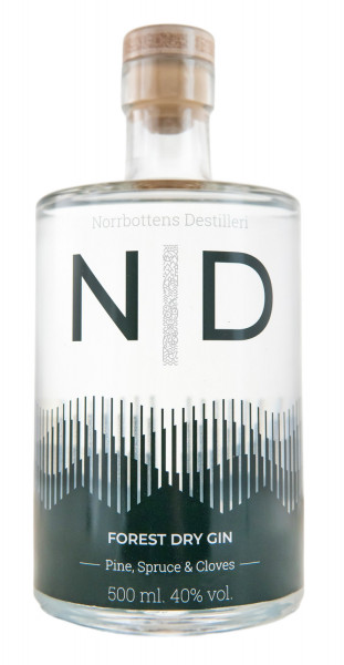 Norbottens Forest Dry Gin - 0,5L 40% vol