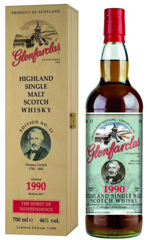 Glenfarclas Edition No. 21 Thomas Carlyle