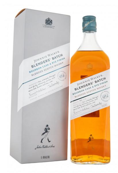 Johnnie Walker Blenders Batch Bourbon Cask & Rye Finish - 1 Liter 40% vol