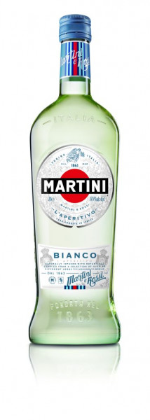 Martini Bianco - 1 Liter 14,4% vol