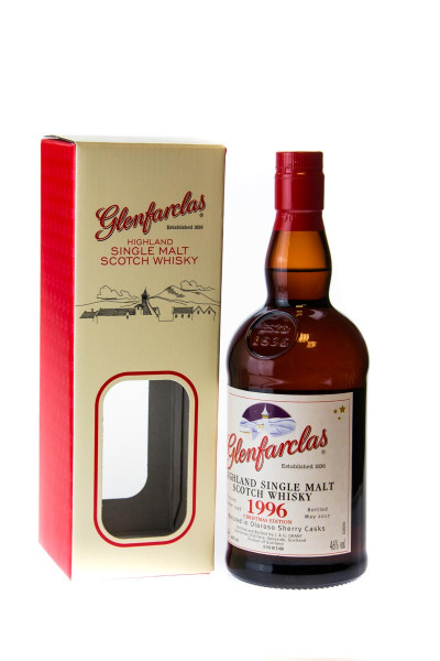 Glenfarclas 1996 Christmas Edition Single Malt Scotch Whisky - 0,7L 46% vol