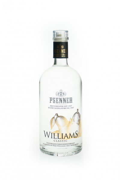 Psenner Williams Christ Birnenbrand - 1 Liter 40% vol