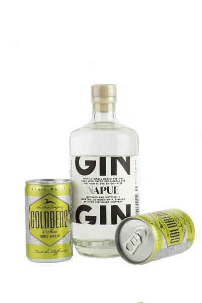 Set: Kyrö Napue Rye Gin + Goldberg Tonic - 0,8L 46,3% vol