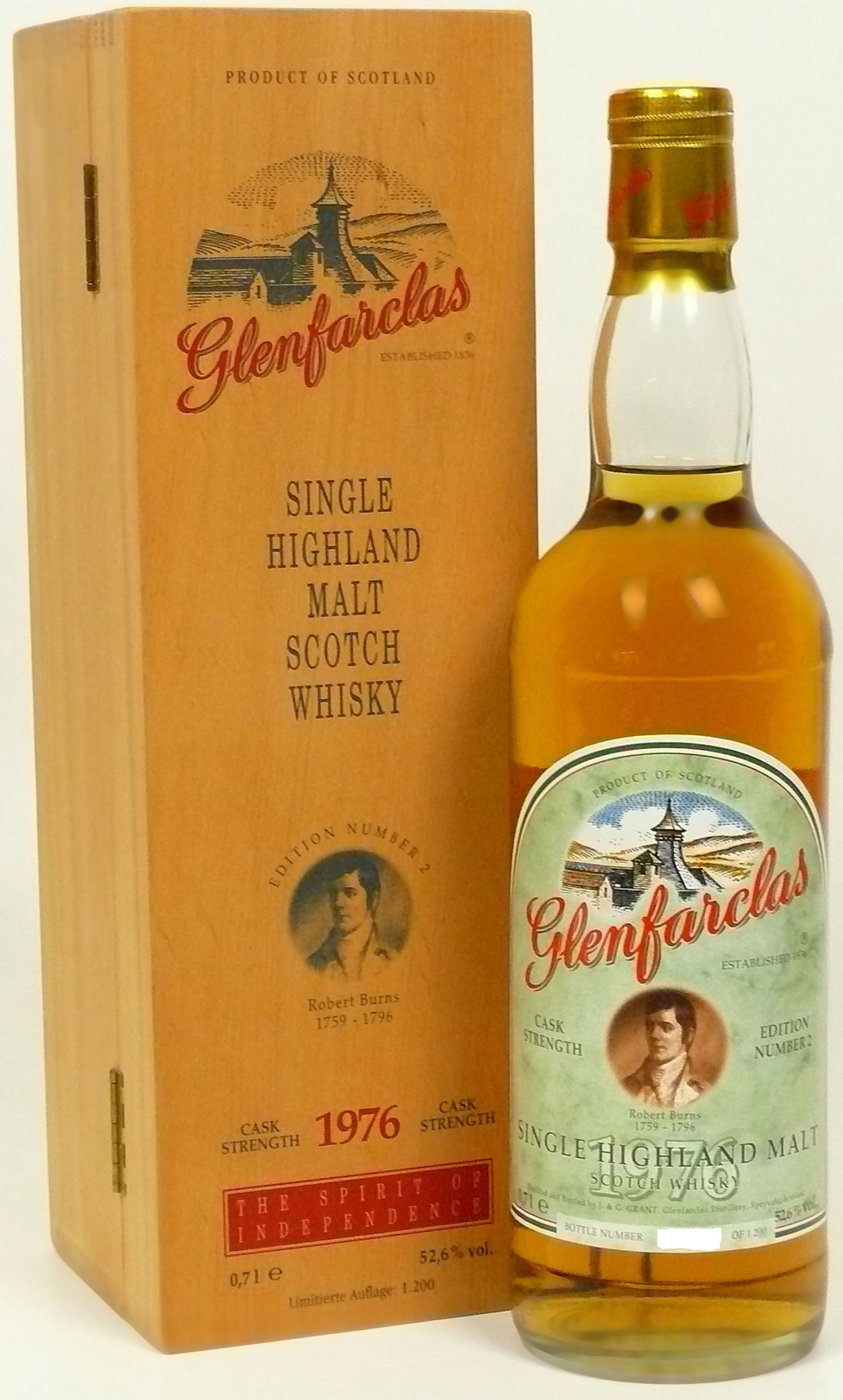Glenfarclas Edition No. 2 Robert Burns