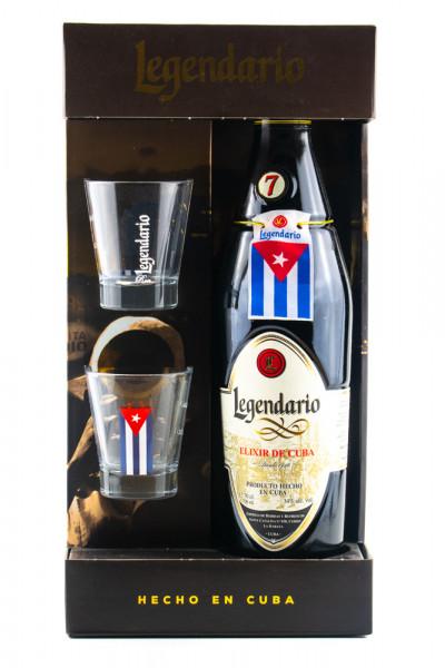 Legendario GEPA mit 2 Gläsern - 0,7L 34% vol