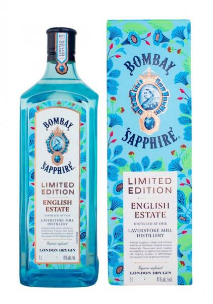 Bombay Sapphire English Estate Limited Edition - 1 Liter 41% vol