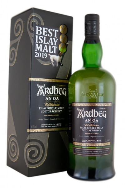Ardbeg AN OA Single Malt Scotch Whisky - 1 Liter 46,6% vol