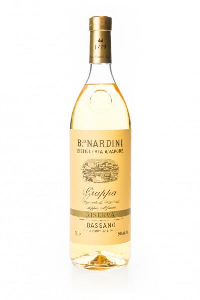 Nardini Grappa Riserva Bassano - 1 Liter 50% vol