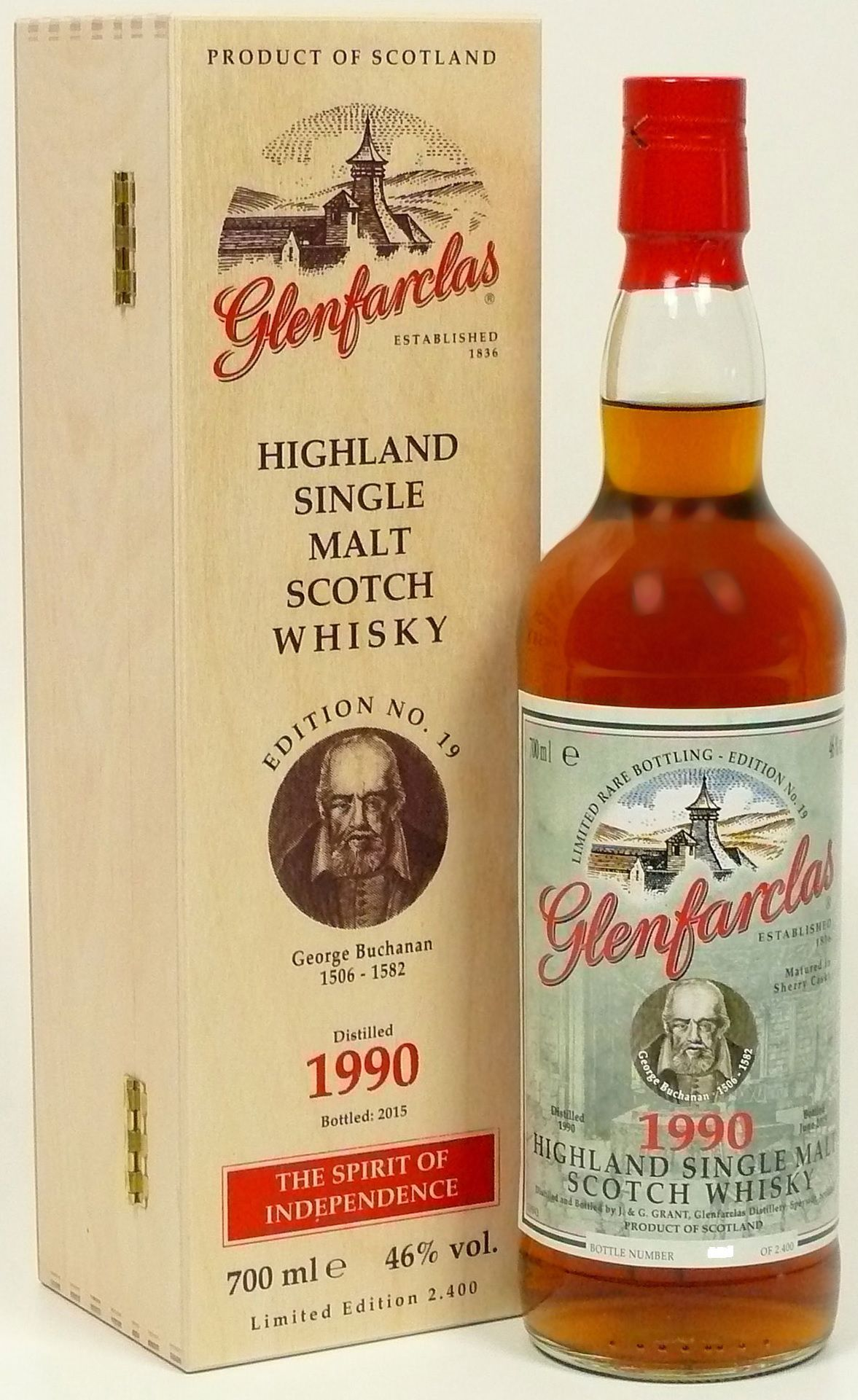 Glenfarclas Edition No. 19 George Buchanan